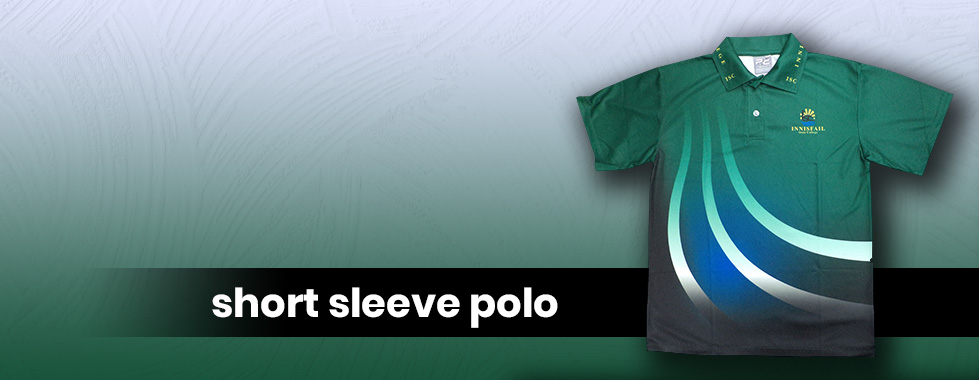Front Page Banner Polo Shirt